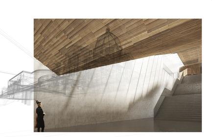 Dossier de presse | 865-33 - Communiqué de presse | Second Major Award Distinguishes Architectural Concept for Saint Joseph's Oratory of Mount Royal - Lemay - Concours - Ascension - Oratoire Saint-Joseph du Mont-Royal - Crédit photo : Lemay