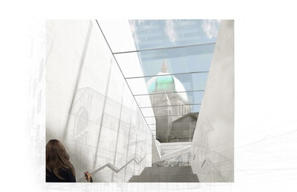 Press kit | 865-33 - Press release | Second Major Award Distinguishes Architectural Concept for Saint Joseph's Oratory of Mount Royal - Lemay - Competition - Ascension -Saint Joseph's Oratory of Mount Royal - Photo credit: Lemay