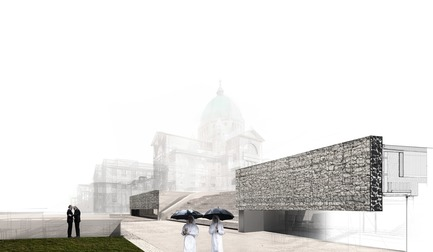 Press kit | 865-33 - Press release | Second Major Award Distinguishes Architectural Concept for Saint Joseph's Oratory of Mount Royal - Lemay - Competition - Saint Joseph's Oratory of Mount Royal - Photo credit: Lemay