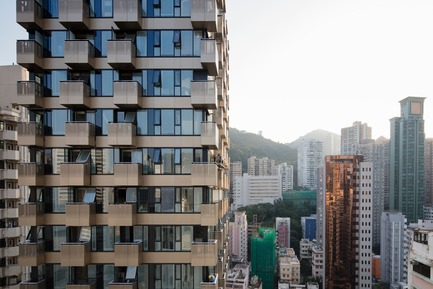 Dossier de presse | 2317-02 - Communiqué de presse | Make Completes High Rise Luxury Residential Tower in Wan Chai - Make Architects - Residential Architecture - The Luna - Crédit photo : Archmospheres