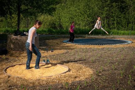Press kit | 837-28 - Press release | The International Garden Festival Opens Its 19th Edition - International Garden Festival / Reford Gardens - Event + Exhibition - aMAIZEing - Photo credit: Martin Bond