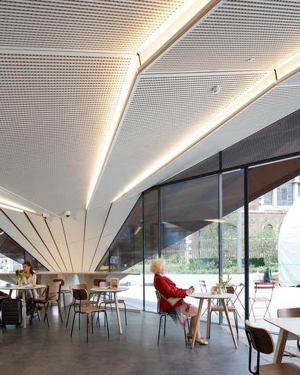 Dossier de presse | 2317-03 - Communiqué de presse | Make Unveils New Monocoque Pavilion for City of London - Make Architects - Commercial Architecture - Natural surveillance - Crédit photo : Make Architects