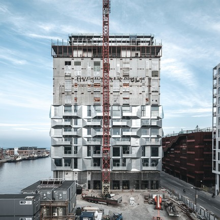 Dossier de presse | 809-23 - Communiqué de presse | AZURE Announces the Winners of the 2018 AZ Awards - AZURE - Competition - 2018 AZ Awards &nbsp;- Best Residential Architecture, Multi-Unit<br>COBE: The Silo, Copenhagen, Denmark<br><br> - Crédit photo : AZURE