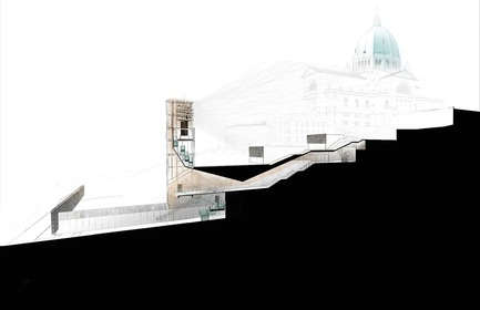 Dossier de presse | 809-23 - Communiqué de presse | AZURE Announces the Winners of the 2018 AZ Awards - AZURE - Competition - 2018 AZ Awards -&nbsp;Best Unbuilt Buildings<br>Lemay: Saint Joseph's Oratory of Mount Royal, Montreal, Quebec, Canada - Crédit photo : AZURE