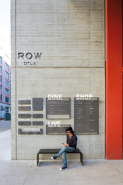 Press kit | 809-23 - Press release | AZURE Announces the Winners of the 2018 AZ Awards - AZURE - Competition - 2018 AZ Awards - Best in Experiential Graphic Design<br>Rios Clementi Hale Studios: Row DTLA, Los Angeles, California, USA - Photo credit: AZURE