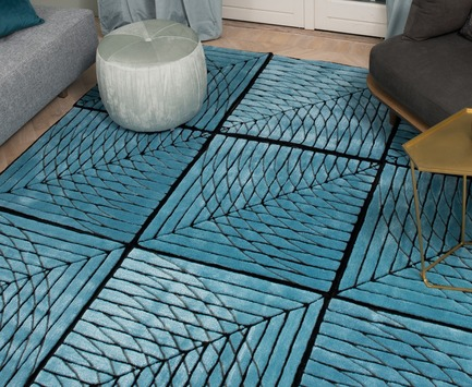 Press kit | 2512-02 - Press release | Edge Area Rug and Morpheus Convertible Rug Tile Win A'Design Award 2018 - Ingrid Külper Design AB - Product - Morpheus convertible rug tile - Photo credit: Ewa Malmsten Nordell at Fotofralla