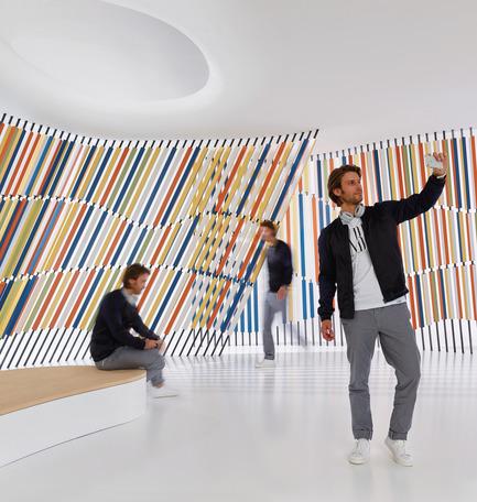 Press kit | 2506-05 - Press release | « Form Follows Fun » : jeunes architectes et designers deviennent inventifs avec la céramique - AGROB BUCHTAL et AIT-Dialog - Concours - Transmittanced'Avishkar Bharati, JDAP Design-Arch.-Planning, IN-Mumbai - Photo credit:  Jochen Stüber, Hamburg,au nom d'AGROB BUCHTAL