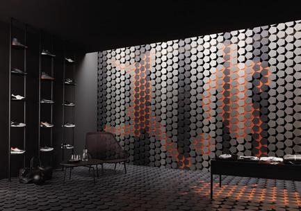 Press kit | 2506-05 - Press release | « Form Follows Fun » : jeunes architectes et designers deviennent inventifs avec la céramique - AGROB BUCHTAL et AIT-Dialog - Concours - RE:Tiled'Andreas Crynen, Ingenhoven Architects, DE-Dusseldorf - Photo credit:  Jochen Stüber, Hamburg,au nom d'AGROB BUCHTAL