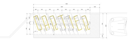 Press kit | 1586-05 - Press release | ABCyclette - Hatem+D Architecture - Industrial Design - Top view - Photo credit:  @hatemplusd