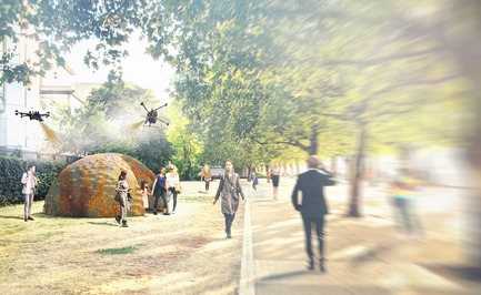 Press kit | 2176-06 - Press release | designjunction Unveils Groundbreaking Installations and Special Features for this Year's Show - designjunction - Event + Exhibition -         Mud Shell developed by Stephanie Chaltiel, Riverside Walkway <br>  - Photo credit: designjunction 2018