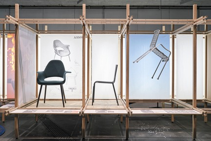 Press kit | 2176-06 - Press release | designjunction Unveils Groundbreaking Installations and Special Features for this Year's Show - designjunction - Event + Exhibition -         'The Original. About the power of good design' installation by Vitra&nbsp; <br>  - Photo credit: designjunction 2018