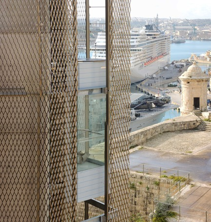 Dossier de presse | 1080-02 - Communiqué de presse | International Awards shortlist announced - INSIDE: World Festival of Interiors - Competition - Barrakka Lift, Malta<br>by Architecture Project<br>