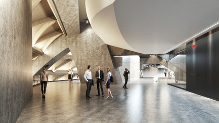 Press kit | 952-17 - Press release | A New Silhouette for the Montréal Tower - Provencher_Roy - Commercial Architecture - Interior of the Montréal Tower  - Photo credit: Provencher_Roy