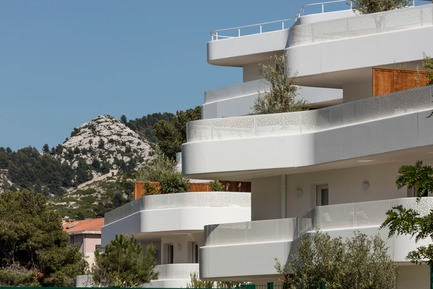 "Press kit | 1151-06 - Press release | ""La Crique"" Project - PietriArchitectes - Residential Architecture - La Crique, Marseille - PietriArchitectes - Photo credit: ©Luc Boegly"