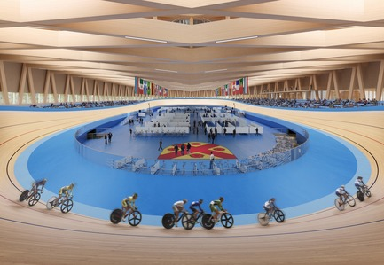Press kit | 1018-07 - Press release | Metaform and Mecanoo Win the International Competition to Design the First Velodrome in Luxembourg - Metaform architects - Competition - Velodrome - Photo credit: Mecanoo