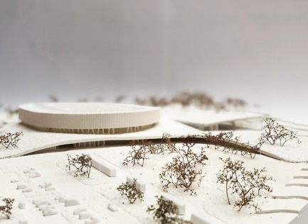 Press kit | 1018-07 - Press release | Metaform and Mecanoo Win the International Competition to Design the First Velodrome in Luxembourg - Metaform architects - Competition - The model - Photo credit: Metaform