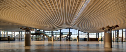 Dossier de presse | 1080-02 - Communiqué de presse | International Awards shortlist announced - INSIDE: World Festival of Interiors - Competition - Sydney Cruise Terminal, Australia<br>by Johnson Pilton Walker Architects, Johnson Pilton Walker<br>