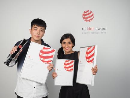 Dossier de presse | 2188-03 - Communiqué de presse | Red Dot Award: Design Concept 2018 Results - Red Dot Award: Design Concept - Competition - Qinhuangdao i-TAOQI Industrial Design for the design concept SRS-Portable Pneumatic Float Bridge - Crédit photo : Red Dot Award: Design Concept
