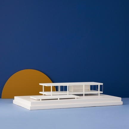 Press kit | 2253-07 - Press release | A Small World Filled With Big Ideas - Chisel & Mouse - Product - Farnsworth House by Chisel & Mouse - Photo credit: Chisel & Mouse