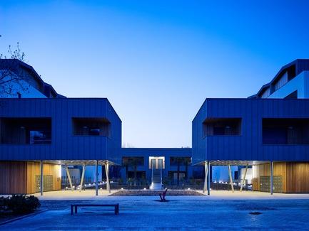 Dossier de presse | 1151-07 - Communiqué de presse | Les Cabanes du Lac - PietriArchitectes - Residential Architecture - Les Cabanes du Lac, Aix-les-Bains, PietriArchitectes - Crédit photo : Kevin Dolmaire