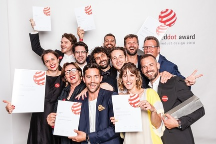 Press kit | 1696-22 - Press release | Red Dot Award: Product Design Begins – Call for Entries Open to Designers and Manufacturers Worldwide - Red Dot Design Award - Competition - Proud winners<br> - Photo credit: Red Dot<br>