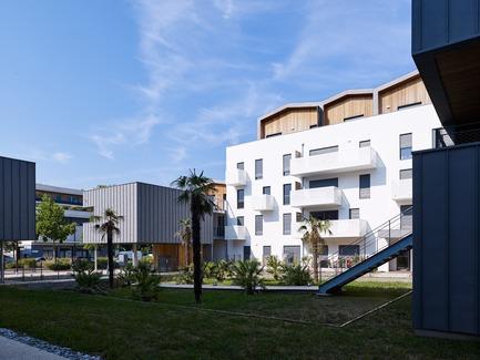 Press kit | 1151-07 - Press release | Les Cabanes du Lac - PietriArchitectes - Residential Architecture - Les Cabanes du Lac, Aix-les-Bains, PietriArchitectes - Photo credit: Kevin Dolmaire
