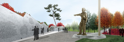 Press kit | 1035-01 - Press release | The Canadian Firefighters Memorial opens in Ottawa - PLANT Architect Inc. - Urban Design - Photo credit: PLANT Architect Inc.
