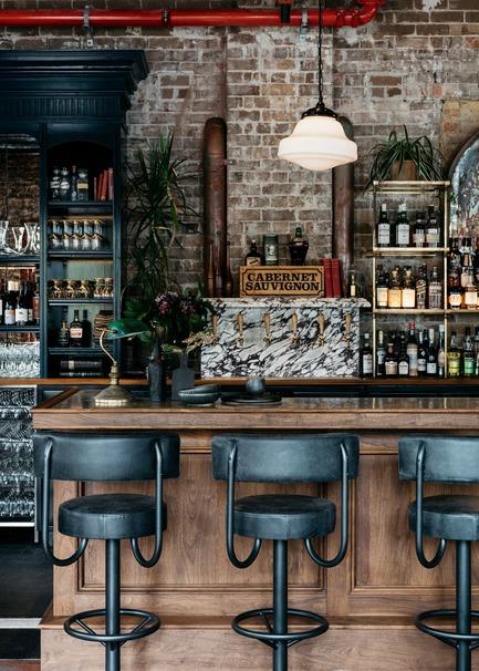 Dossier de presse | 2887-04 - Communiqué de presse | Stanton&Co - Alexander &CO. - Design d'intérieur commercial - Bar Detail - Crédit photo : Felix Forest