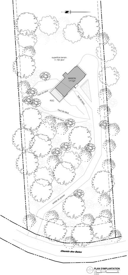Press kit | 3463-01 - Press release | Le refuge et son rocher - ESPACE VITAL architecture - Architecture résidentielle - Photo credit:  ESPACE VITAL architecture<br>