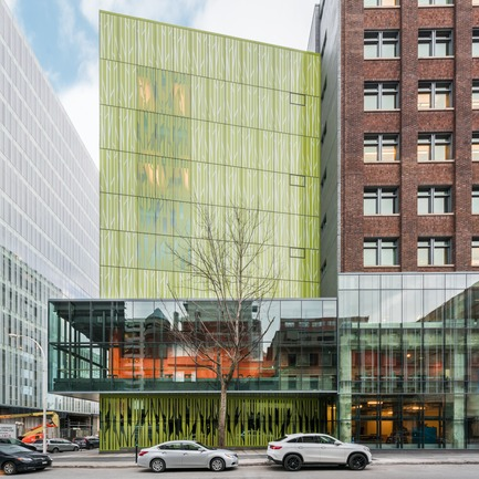 Dossier de presse | 675-13 - Communiqué de presse | L'Édifice Wilder – Espace Danse Certified LEED NC, Silver - Ædifica - Institutional Architecture -   Edifice Wilder – Espace Danse <br>Joint Venture : Lapointe Magne + Ædifica   - Crédit photo :  David Boyer