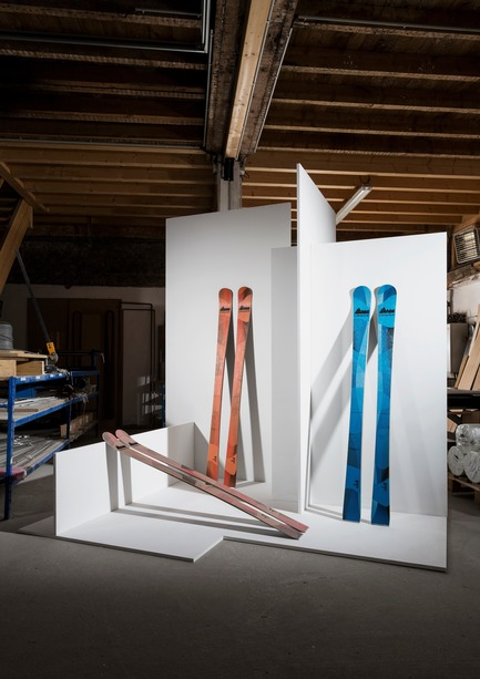 Press kit | 1119-04 - Press release | A Revolutionary Ski Brand, 100% Imagined and Made in France - La Fabrique du Ski - Product - On Piste ski collection - Photo credit: Thomas Lang