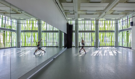 Press kit | 675-13 - Press release | L'Édifice Wilder – Espace Danse obtient la certification LEED NC, niveau argent - Ædifica - Architecture institutionnelle - L'Édifice Wilder – Espace Danse <br>CONSORTIUM : Lapointe Magne + Ædifica - Photo credit: Michel Brunelle