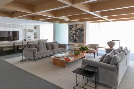 Dossier de presse | 3039-02 - Communiqué de presse | RBI Apartment - Coletivo Arquitetos - Design d'intérieur résidentiel - Living Room - Crédit photo : Ruy Teixeira
