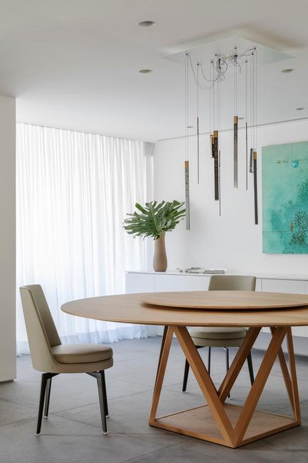 Dossier de presse | 3039-02 - Communiqué de presse | RBI Apartment - Coletivo Arquitetos - Design d'intérieur résidentiel - Dining Room - Crédit photo : Ruy Teixeira