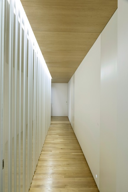 Press kit | 3039-02 - Press release | RBI Apartment - Coletivo Arquitetos - Residential Interior Design - Corridor  - Photo credit: Ruy Teixeira