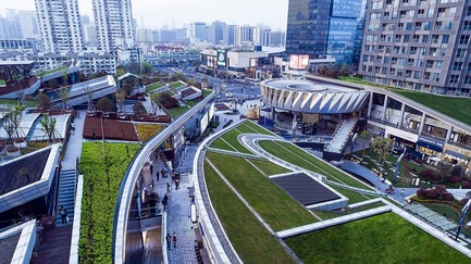 Press kit | 661-48 - Press release | World Architecture Festival 2018 – Day Two Winners of International Architectural Awards Announced - World Architecture Festival (WAF) - Competition - Nikken Sekkei won the 'Shopping - Completed Buildings' award for their Shanghai Greenland Centre / Greenland Being Funny in Shanghai, China. - Photo credit: Courtesy of World Architecture Festival