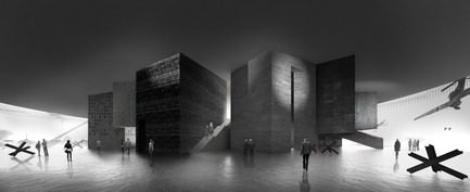 Press kit | 661-48 - Press release | World Architecture Festival 2018 – Day Two Winners of International Architectural Awards Announced - World Architecture Festival (WAF) - Competition - The 'Culture - Future Projects' category winners were Studio 44 for their Museum of the Siege of Leningrad, in St Petersburg, Russia. - Photo credit: Courtesy of World Architecture Festival