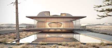 Press kit | 661-48 - Press release | World Architecture Festival 2018 – Day Two Winners of International Architectural Awards Announced - World Architecture Festival (WAF) - Competition - Nextoffice were victors in the 'House – Future Projects' category for Guyim Vault House in Shiraz, Iran. - Photo credit: Courtesy of World Architecture Festival