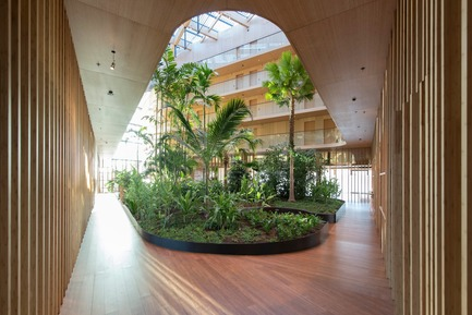 Press kit | 661-48 - Press release | World Architecture Festival 2018 – Day Two Winners of International Architectural Awards Announced - World Architecture Festival (WAF) - Competition - The winners of the 'Hotel and Leisure - Completed Buildings' award, supported by GROHE, were SeARCH for their Hotel Jakarta project in Amsterdam.  - Photo credit: Courtesy of World Architecture Festival