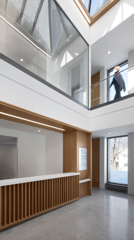 Press kit | 1172-07 - Press release | Rigaud City Hall - Affleck de la Riva architects - Institutional Architecture - Rigaud City Hall - The Atrium - Photo credit: Adrien Williams