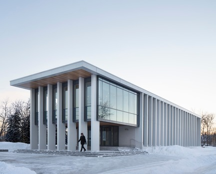 Press kit | 1172-07 - Press release | Rigaud City Hall - Affleck de la Riva architects - Institutional Architecture - Rigaud City Hall - Photo credit: Adrien Williams