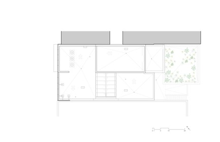 Dossier de presse | 780-05 - Communiqué de presse | Van Horne - Paul Bernier Architecte - Residential Architecture - Roof plan - Crédit photo : Paul Bernier Architecte