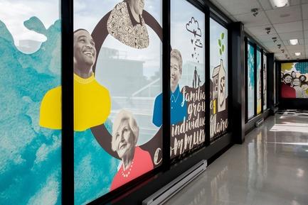 Dossier de presse | 2064-04 - Communiqué de presse | Au Cégep Marie-Victorin, l'art est au service de l'éducation - Cégep Marie-Victorin - Design d'intérieur commercial - Département de travail social - Crédit photo : Sébastien Roy
