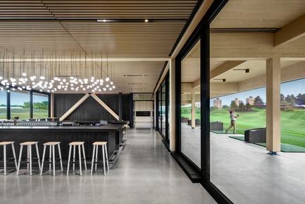 Press kit | 673-21 - Press release | Et les lauréats sont ! GRANDS PRIX DU DESIGN 12e édition - Agence PID - Competition - Prix centre de bien-être, d'entraînement et récréatif<br>Pavillon du Golf Exécutif Montréal<br>Architecture49 - Photo credit: Stephane Brügger