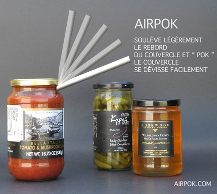 Press kit | 673-21 - Press release | 12th GRANDS PRIX DU DESIGN Awards Winners Announced - Agence PID - Competition - Design Industriel Prix produit de cuisine	<br>airpok	<br>Fonction Design - Photo credit: Alain Simard<br>