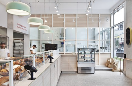 Press kit | 673-21 - Press release | 12th GRANDS PRIX DU DESIGN Awards Winners Announced - Agence PID - Competition -  Prix café et comptoir alimentaire	exaequo<br>Boulangerie Louise Petite Italie	<br>PERRON<br>  - Photo credit: Diane Blanchard