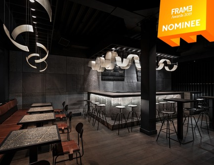 Dossier de presse | 3160-03 - Communiqué de presse | Announcing the Nominees of the Frame Awards 2019 - Frame - Competition - Best Use of Material<br> - Crédit photo : BERLIN BAR, Thilo Reich