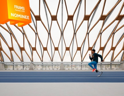 Press kit | 3160-03 - Press release | Announcing the Nominees of the Frame Awards 2019 - Frame - Competition - Social Award<br> - Photo credit: SHIN-TOYOSU BRILLIA RUNNING STADIUM, Yukiharu Takematsu + E.P.A