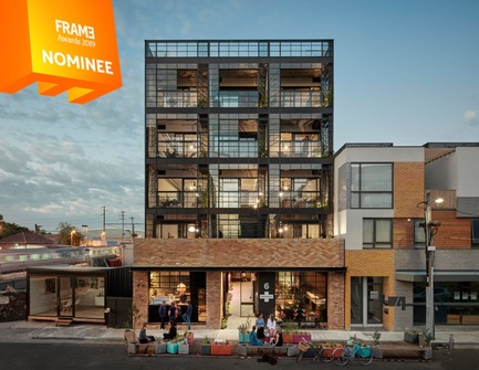 Dossier de presse | 3160-03 - Communiqué de presse | Announcing the Nominees of the Frame Awards 2019 - Frame - Competition - Sustainability Award<br> - Crédit photo : NIGHTINGALE 1, Breathe Architecture
