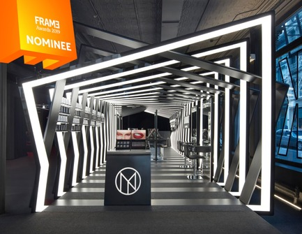 Dossier de presse | 3160-03 - Communiqué de presse | Announcing the Nominees of the Frame Awards 2019 - Frame - Competition - Pop-up Store of the Year<br> - Crédit photo : IL MAKIAGE PAVILION, Zaha Hadid Architects